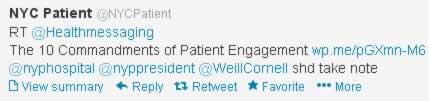 Tweet to Hospitals