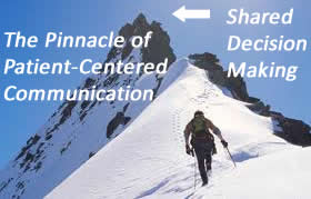 Pinnicle of patient-centered communications
